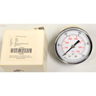 Pressure Gauge #4EFE2, 0-1000PSI(0-7000kPa, 1/4: BSPT