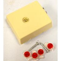 Suttle SE-625A1-4-52 Assy Mod Jack Modified - Telephone Wall Jack - 10 pcs.