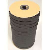 "Black Eleastic 12mm  1/2"" x 144 yd. Used directly to be stitched to vehicle  fabric."