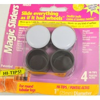 Magic Sliders #04253 4 pc pkg - 4 packages - slides everything as if it had wheels.