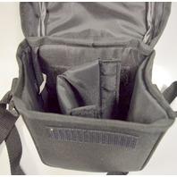 "Olympus Neoprene Camera Pouch w/shoulder strap-Front Closure- 5 x 3 x 6 1/2"""
