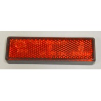 """Reflectors self adhesive for bicycles-Red  3 1/2"""" x 1"""" - 4 pcs."""