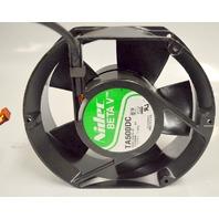 Nidec Beta V TA500DC 12VDC 1.7Amp Cooling Fan - 6 x 6 1/2 x 2 thick - new old stock