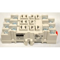 Dayton #6853N - 11 Pin, 15A, 300 V Socket Relay.