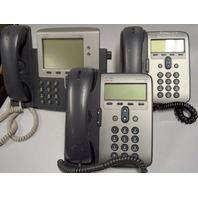 Cisco IP Phones - lot of 3. 2-7911 and 1-7941 - all used
