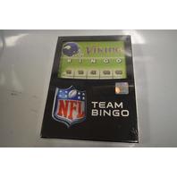 NFL Vikings Football Team Bingo Game - New in box