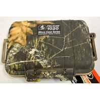 Pelican #1020-005-113 Micro Black Mossy Camo Case Dry Box with Carabiner