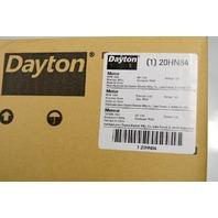Dayton #20HN84 1/100 HP, HVAC Motor, 1550 Nameplate RPM