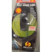 Pelican VB3 2220 LED Dual Lights, 180* pivoting head, Spring Clip for hands free.