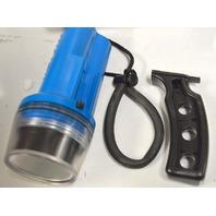 "Underwater Diving TREK 6000 LED Flashlight 6.25""L x 2.9""Wx 1.4 LBS."