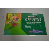 NEW! Cray-Pas Expressionist 48 pc Oil Pastels