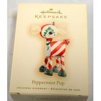 Hallmark Keepsake Peppermint Pup WD4095 - 2007