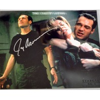 Stargate Signed Photograph Jay Acovone With Protective Cover The Enemy Within