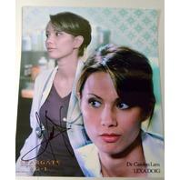 Stargate Signed Photograph Lexa Doig as Dr. Carolyn Lam