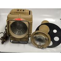 Vintage Naren Pro-Spot Stage Spotlight with Attatchment Model N-102