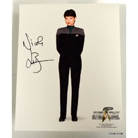 Star Trek Signed Photograph Nicole de Boer 45th Anniversary
