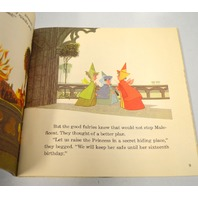 Walt Disney's Story of Sleeping Beauty - Story and 33 1/3 record. See-Hear-Read.