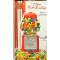 """Mini Bean Machine - Jelly Belly - Glass Dome - 9"""" Tall. New in the Box."""