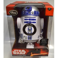 "Star Wars R2-D2 -Talking - 10 1/2"" Figure-Disney-Head Turns, Body Rolls&Spins."