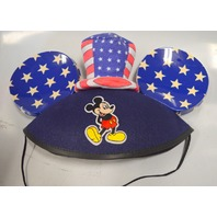 Disney Parks Mickey Mouse Ears Hat - Stars and Stripes.