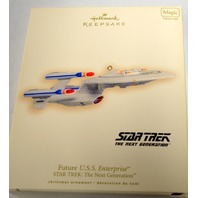 Hallmark 2007 Future U.S.S. Enterprise Star Trek The Next Generation - #04347