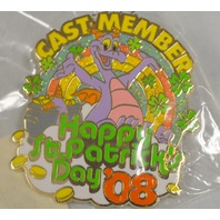 Disney Cast Member Exclusive St. Patrick's Day '08 - Limited Edition of 1000 pins.