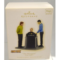 "Hallmark Keepsake Ornament Star Trek ""The Menagerie"" Light & sound #01232"