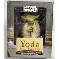 "Star Wars ""Yoda, Bring you Wisdon, I Will-Includes a book of Yoda's wisdom."