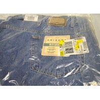 "Arizona Jean Company -  Men's Relaxed 54"" x 29"" Blue Jeans"