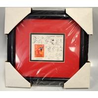 "Disney ""Mickey Sorcerer's Apprentice Mongolia Stamp Framed - 15215"