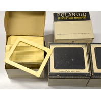"4 - 16 pc boxes of Polaroid Slide Mounts Number 633 - 4"" x 3 1/4"" - New Old Stock"