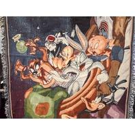 Space Jam 1996, Michael Jordan,Bugs Bunny, Taz, Elmer Fud and Daffy Blanket.