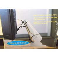 Flat Screen, Desk Mount Monitor Arm by Work@Ease