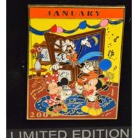 Disney Calendar Series-January 2007-#97963 LE 50