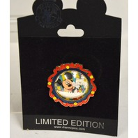 Disney Collectible Pin LE - Snowglobe with Mickey.