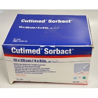 "Cutimed Sorbact Wound Dressing  4x8"" - Box of 19 pcs. EXP DAT 2018"