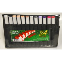 Copic Sketch Manga Wallet A - 24 Colors - Design Sketch Wallet