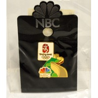 NBC Beijing 2008 Olympics Great Wall of China pin.