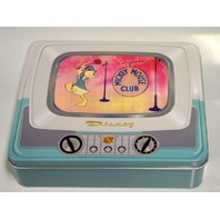 Mickey Mouse Club with TV Tin Boxed 5 pc pin set.