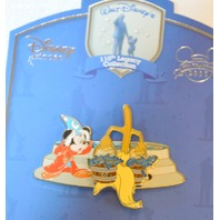 Disney 110th Legacy LE250, Mickey, Sorcerer with the Broom with buckets.