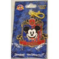 Disney Lanuard Medal-Walt Disney World Mickey Mouse.