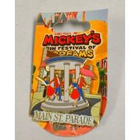 Disney Pin #56481 Mickey's Festival of Dreams - Main St. Parade