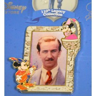 Disney 110th Legacy Collection LE250 Medieval Mickey and Minnie Portrait of Walt.