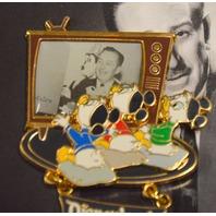Walt Disney Originals LE collectible Pins - Walt, Huey, Dewey and Louie.