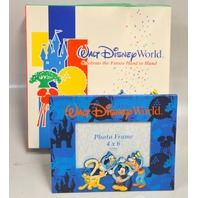 "Walt Disney World 4"" x 6"" Photo Frame - from the year 2000  - New."