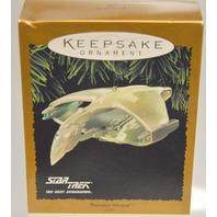 "Hallmark Keepsake Ornament ""Star Trek"" Warbird."