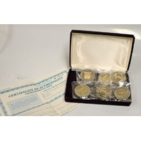 National Historical Mint Constitution Commemorative Set of 6 Double Eagle Coins.
