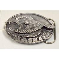 Vintage Alaska Bald Eagle Belt Buckle- #JH192
