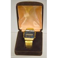 Vintage Kessel LCD Quartz Alarm Watch NIB
