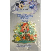 Disney Where Dreams HapPin - Mickey in the role of Arial - Under the sea. LE